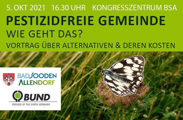Vortrag Pestizidfreie Gemeinde in BSA